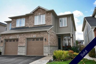 Waterdown Semi-Detached:  4 bedroom